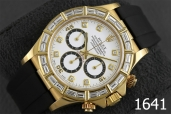 1641-ROLEX DAYTONA ZENITH WHITE DIAMONDS 18K GOLD