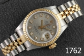 1762-ROLEX DATEJUST LADY SIZE TWO TONE 69173